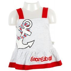 Georgi Kidz Baby Frock is truly a smart choice for your baby. These frocks are cotton made pure fabric worth soft and comfortable to your little cutie. These casual frocks are easy to put on and are all season wearable either alone or with contrast color-tees or leggings also.