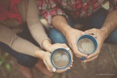 Coffee time together is special.