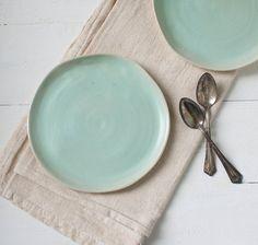 organic dessert plates