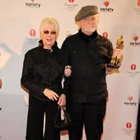 Shirley Jones and Marty Ingels at Oscar Night America at the Palms Las Vegas on February 26, 2012.