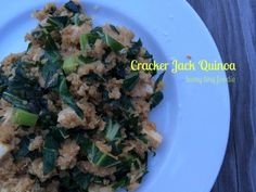 Cracker Jack Quinoa from teeny tiny foodie is an easy #vegan meal that is delicious and #healthy!