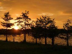Lake Hamilton at Sunrise