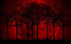 Beautiful red moon. Signing off for tonight. Have a good weekend and enjoy pinting.  The Incensewoman