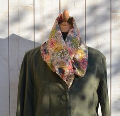 ECO FRIENDLY  French Cotton scarf  Summer dream  4 by ikabags