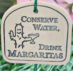 Conserve Garden Plaque