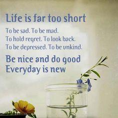 Be nice and do good
