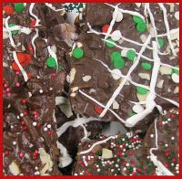 Day 1 of 12 Days of Christmas Goodies (2011) - PRETZEL BARK - We are linking up ALL Bark recipes today! Please come look, browse or share your own recipe for Bark on MOMS CRAZY COOKING!