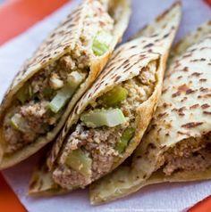 Tu-Nut Sandwich. Raw, Vegan Tuna-Style sandwich