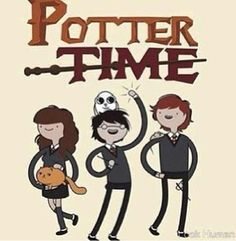 Adventure time meets Harry potter