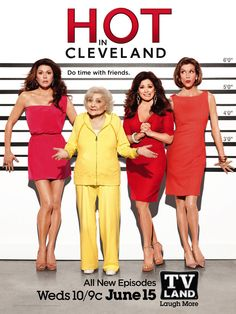 Hot in Cleveland  -  LOVE Betty White