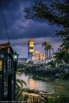 lighthouse, Farol santa marta, Colombia.