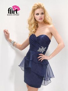 Flirt Dress PF5136 at Peaches Boutique