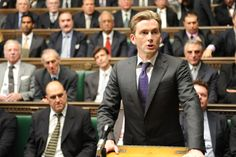 David Tennant as Aiden Hoynes MP in 'The Politician's Husband'