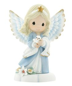Love this Blue Angel & Dove Figurine on #zulily! #zulilyfinds