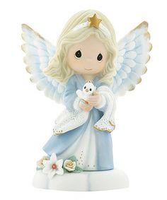 Love this Blue Angel & Dove Figurine on #zulily! #zulilyfinds
