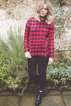 uk fashion blogger, lily melrose, long bob