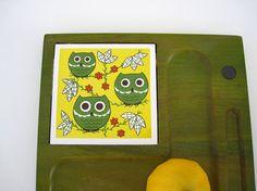 Owl Cheese Trivet