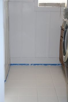 How to paint tile floors - something to consider for the bathrooms eventually?