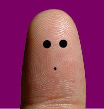 super cute fingertips portrait @ http://ditology.blogspot.co.uk ::: Ditology :::