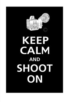 Keep Calm and SHOOT ON Vintage Camera Poster 13x19 by PosterPop, $15.95