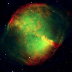 Dumbbell Nebula galaxies