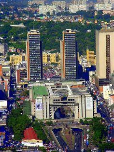 Las Torres de El Silencio. Caracas.