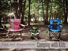 Camping Tips for stress-free camping with kids {from @Ann Harquail (My Nearest & Dearest)}
