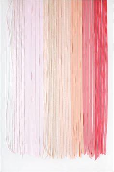 Trend We Love: Ombré Wedding Ceremony Aisles:  Consider running ribbons down the aisle for a one-of-kind chic look.