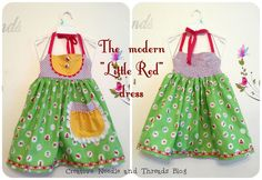 "The modern ""Little Red Ridding Hood"" dress"