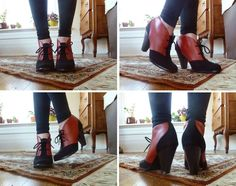 Color Block Ankle Boots, 18 Crafty DIY Boot Makeovers