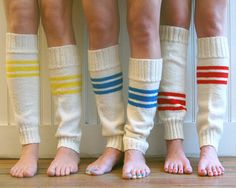Tube Sock Leg Warmers