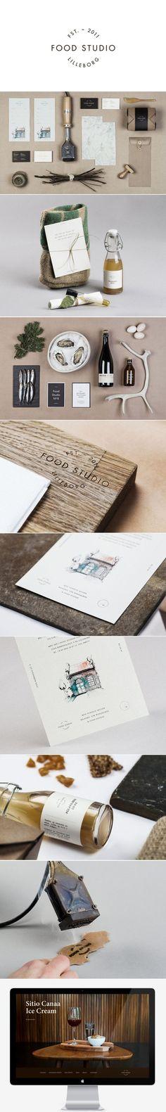Unique Branding Design, Food Studio #Branding #Design (http://www.pinterest.com/aldenchong/)
