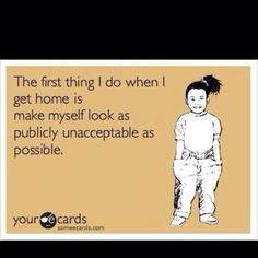 This is so me...
