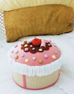 Caixa cupcake - Portal de Artesanato - O melhor site de artesanato com passo a passo gratuito