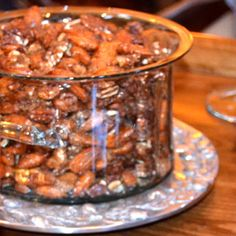 #Sweet & Spicy Roasted Mixed Nuts from www.AfterOrangeCounty.com