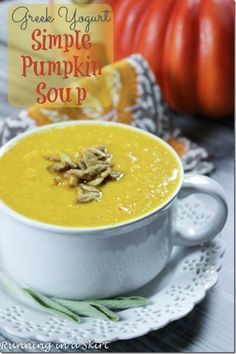 Simple Pumpkin Soup