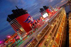 Disney cruise. Yes.
