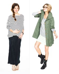 maternity clothes (but still, not for a LOOOONG time)