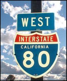 I-80 California