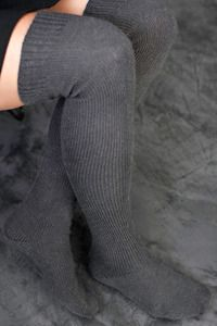 Orkney Angora Over the Knees leg warmers