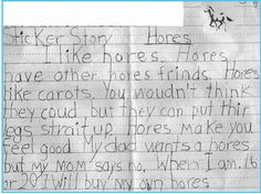 Funny letters by little kids.  #funny #kid #notes #letters