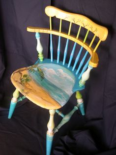The Distoriated Quilter ~ Janice Paine-Dawes: A chair for a Chairity auction and Tutorial