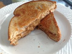 Grilled Peanut Butter Sandwich, Finalist in Philabundance Spread the Love Peanut Butter recipe contest!  Sticking Together Against Hunger!