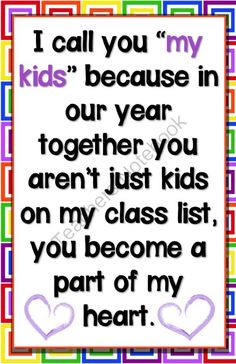 Kids Poster from House Fly Creations on TeachersNotebook.com -  (1 page)  - A feel good poster for the classroom.