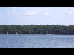Watercraft at Camp #Yawgoog, as viewed from Armstrong Point on the Yellow Trail.  Recorded July 26, 2014, by David R. Brierley.