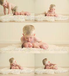 Gorgeous newborn A and her sweet big brother B. Massachusetts newborn photographer. » Heidi Hope Photography