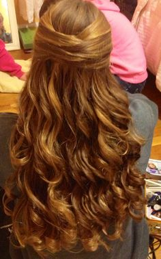 Prom hair & I absolutely loooooooove it!!!!