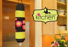 Kitchen: Plastic Bag Keeper/Dispenser