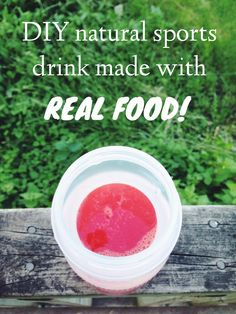 DIY: Make your own electrolyte replacement drink using FOOD!