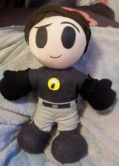 Captain Hammer plush. How cute is this?! I want one!